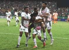 Mohun Bagan players celebrate