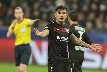 Charles Aranguiz Bayer Leverkusen Bundesliga