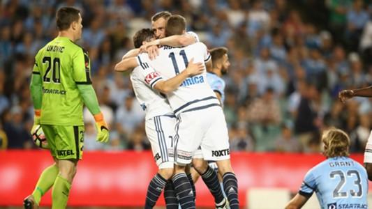 Sydney FC v Melbourne Victory A-League 05112016