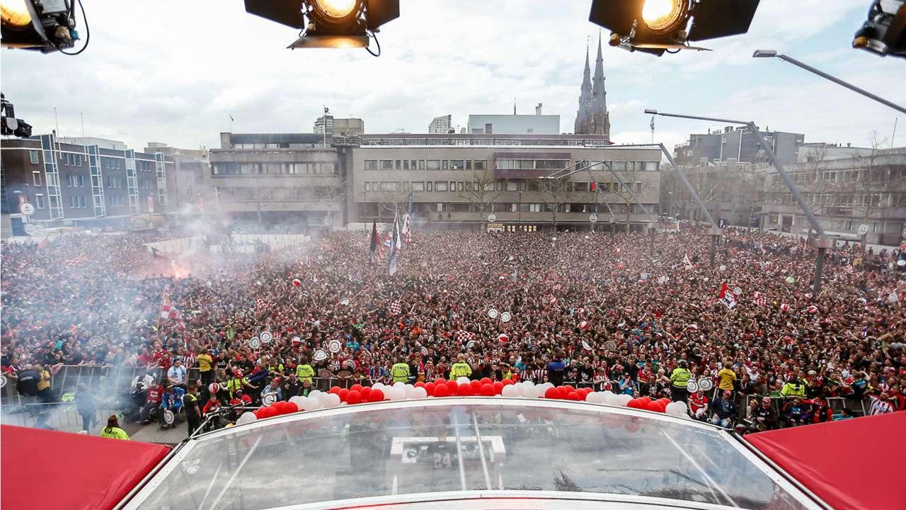 Huldiging PSV, 04162018