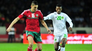 Mohammed Nahiri Morocco Samba Moussa Mauritania CHAN 2018