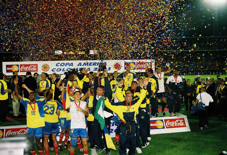 Colombia campeón de la Copa América 2001