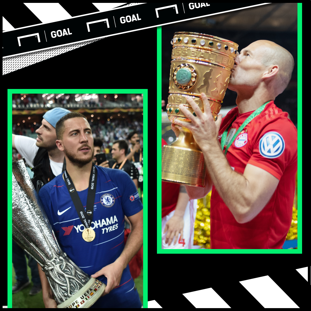 Eden Hazard and Arjen Robben GFX