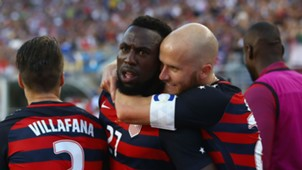 Jozy Altidore Michael Bradley USA Jamaica Gold Cup
