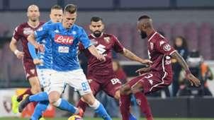 Arkadiusz Milik Napoli Torino Serie A