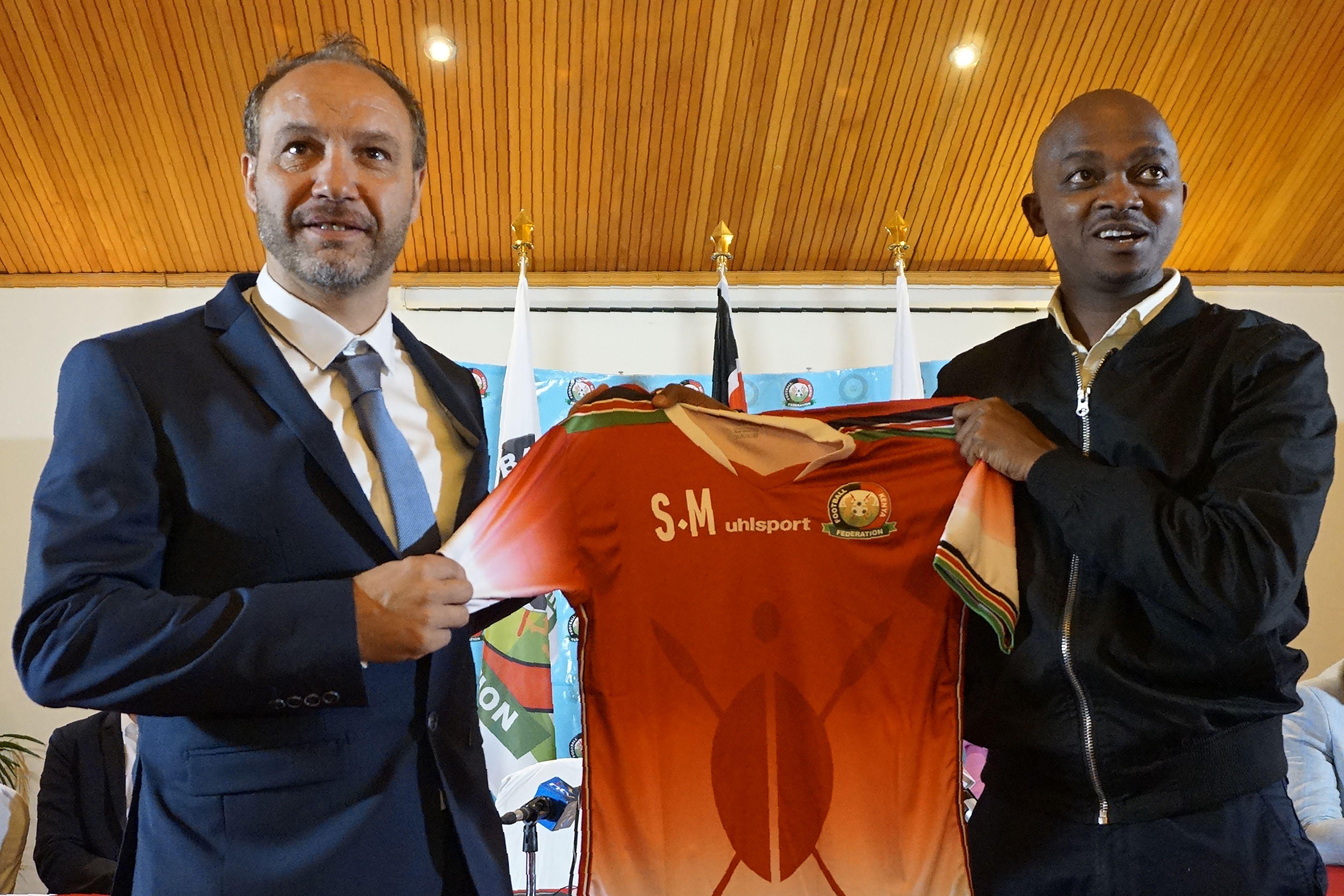 Kenya head coach Sebastian Migne