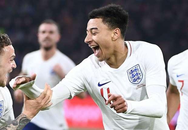 ab0459e7b05 All World Cup News. Lingard feels 'more comfortable' with England than Man  Utd