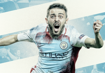 Bernardo Silva Manchester City GFX