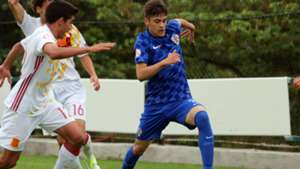 david colina - croatia spain U17 - euro 2017 - 09052017