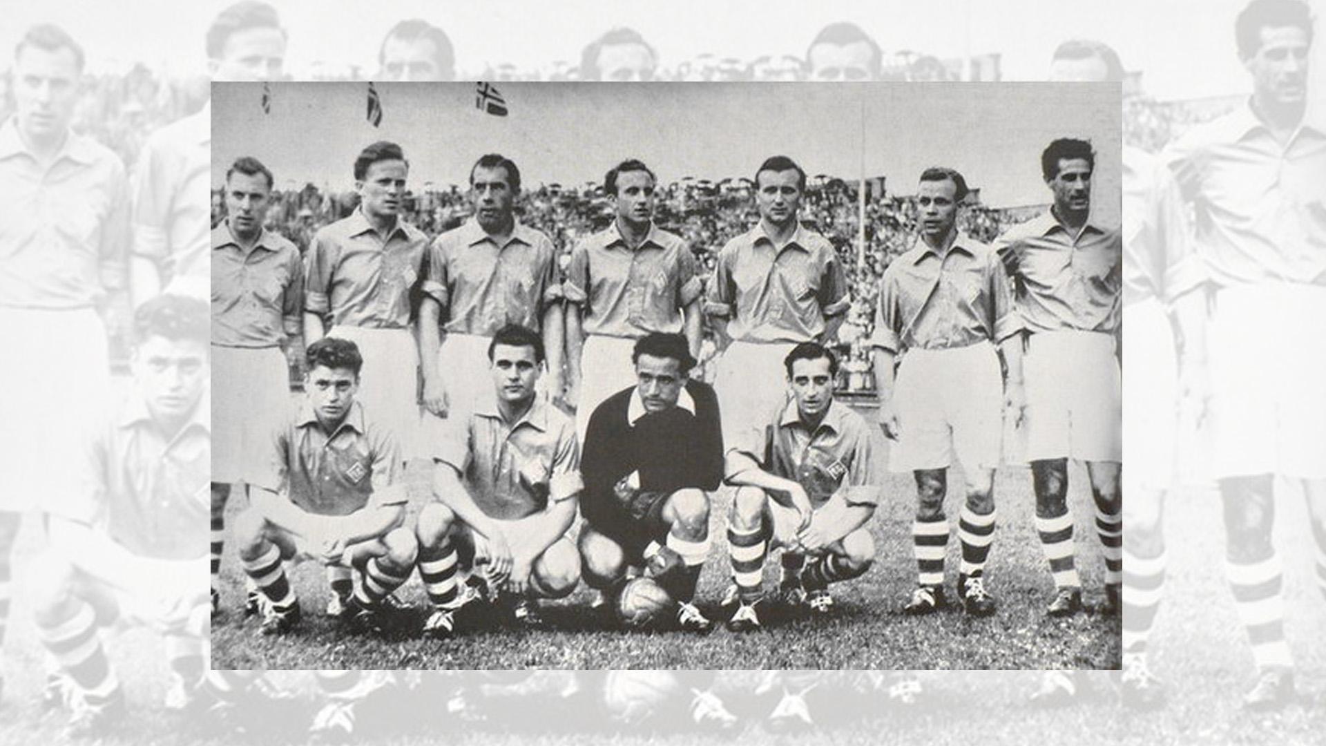 Seleccion Sarre Saarland National Team 1953