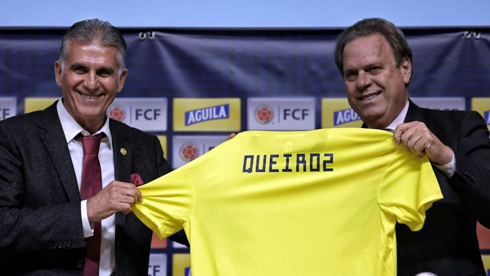 Queiroz sigue de cerca las inferiores de Colombia