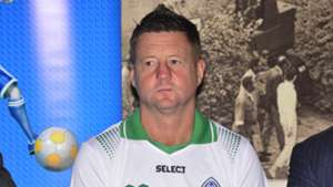 New Gor Mahia coach Dylan Kerr.