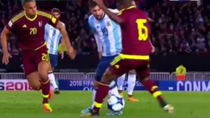 Messi Argentina Venezuela Eliminatorias Sudamericanas Fecha 16 5092017