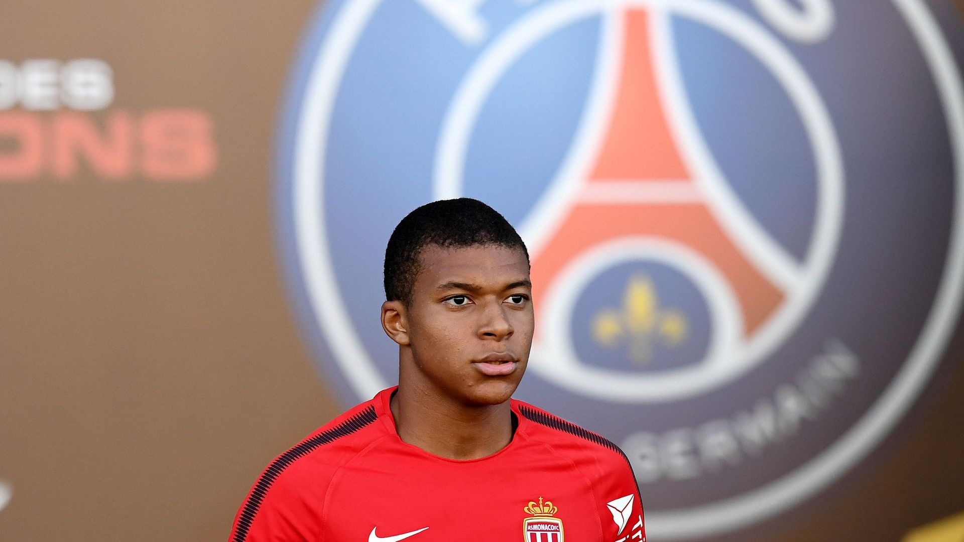 Kylian Mbappe Monaco PSG sign 2017