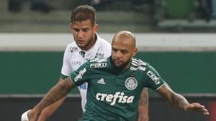 Felipe Melo Rafael Moura Palmeiras America-MG Copa do Brasil 23052018