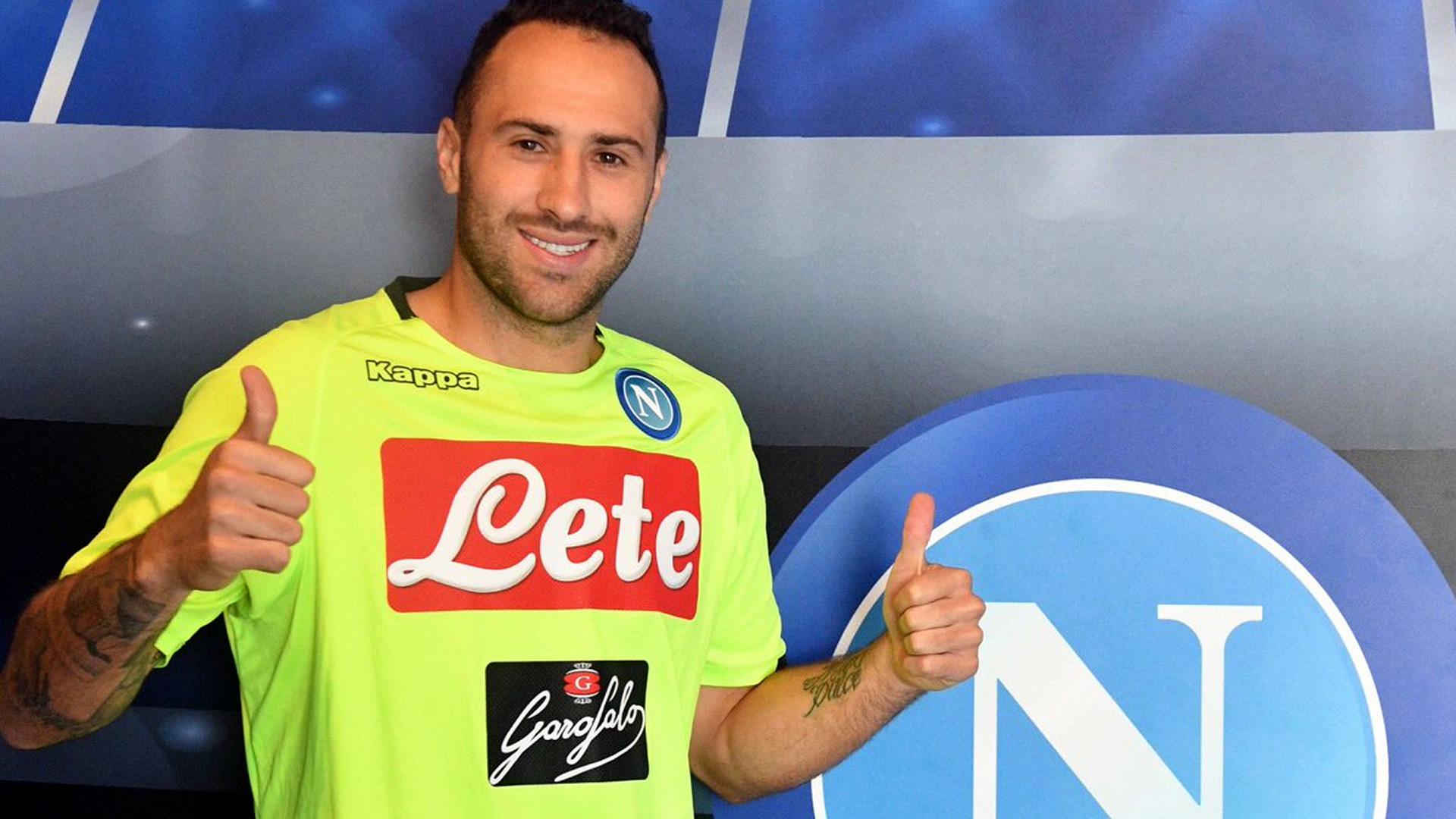 David Ospina Napoli Serie A 2018