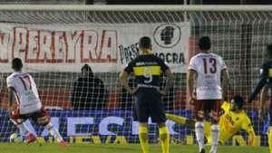 Huracán vs Boca penal Romero Gamarra