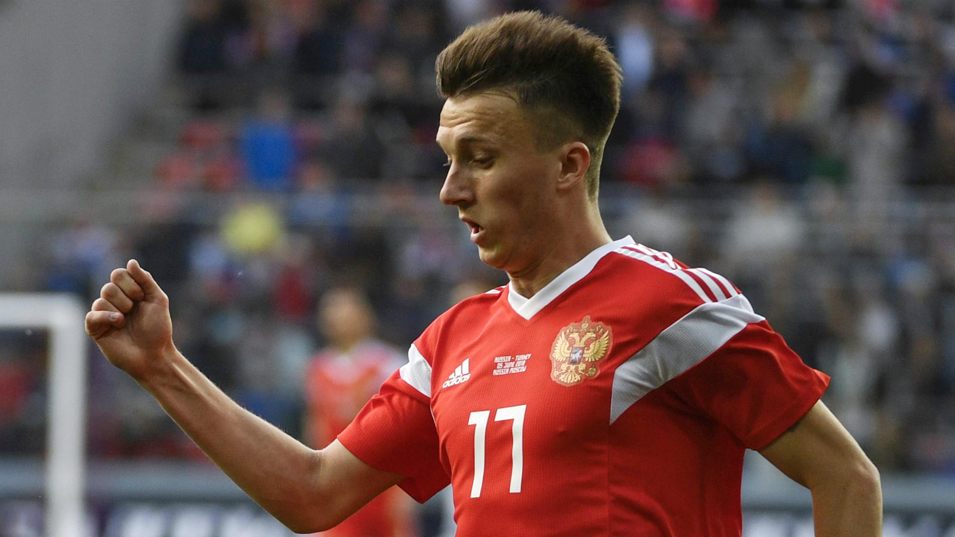 Juve, offerta di 18 mln per Golovin: la richiesta del Cska