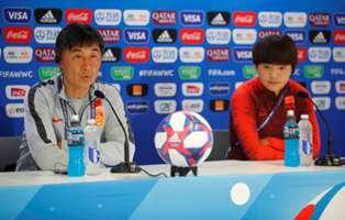 女足世界杯 中国对战意大利赛前