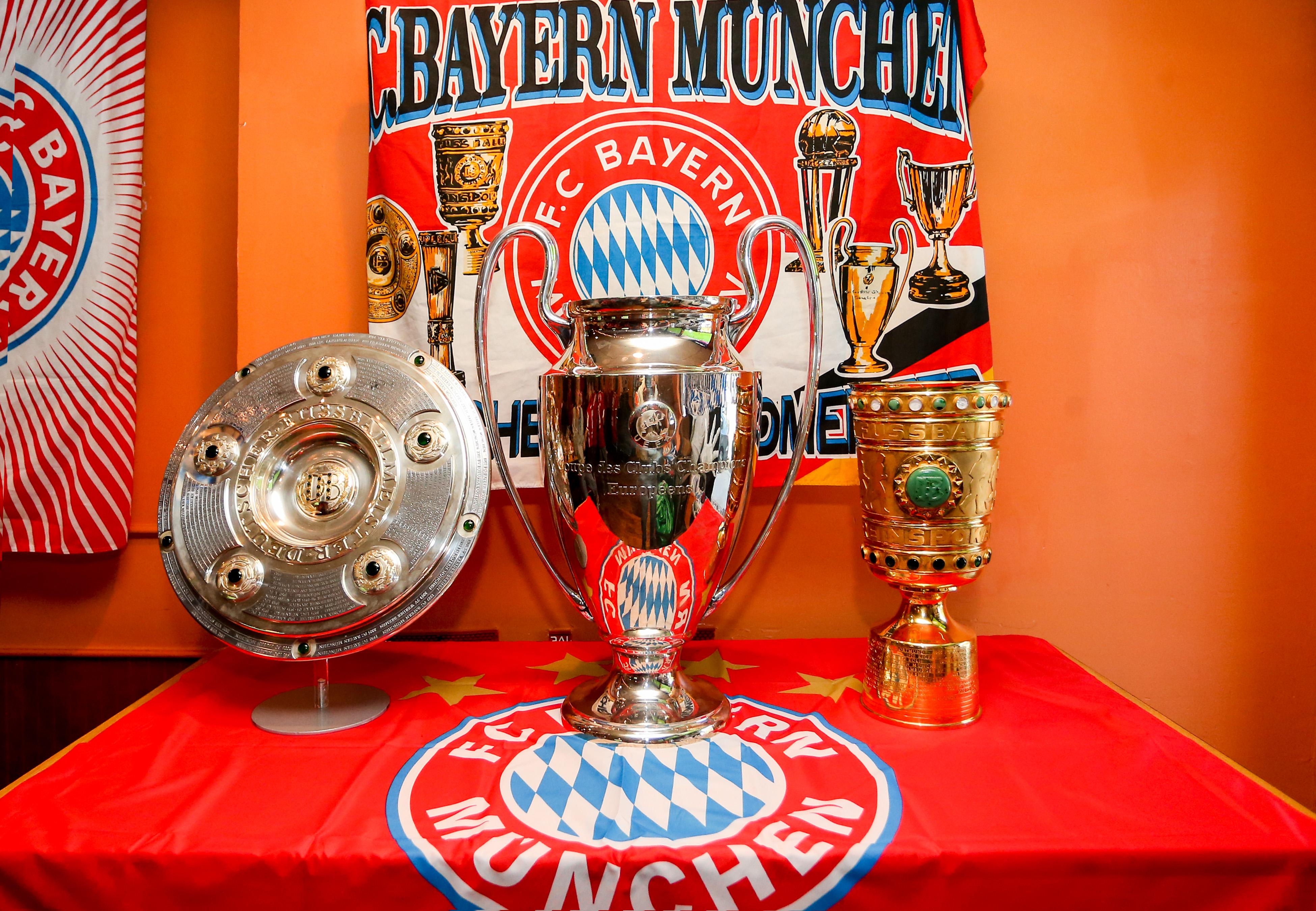 Bayern trophies