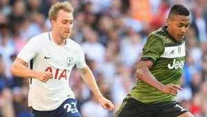 Eriksen Alex Sandro Tottenham Juventus