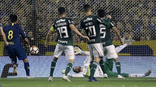 Gol Benedetto Boca Palmeiras Copa Libertadores Semifinal Ida 24102018