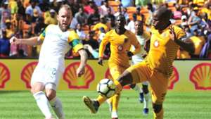 Jeremy Brockie, Sundowns & Willard Katsande, Kaizer Chiefs, January 2019