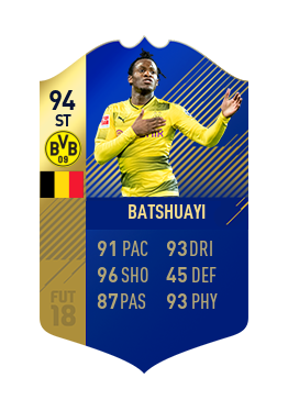 FIFA 18 Bundesliga Team of the Season Michy Batshuayi