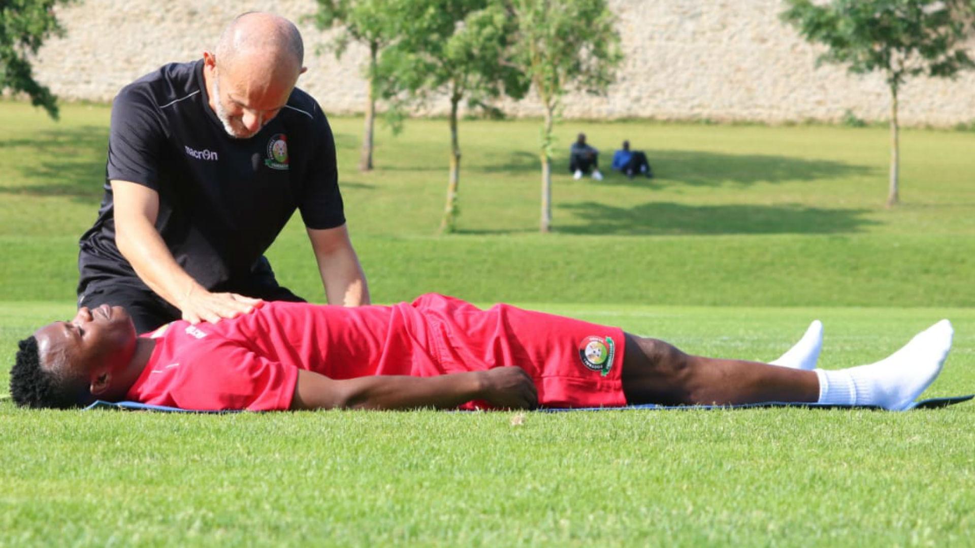 Ayub Timbe of Harambee Stars.