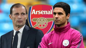 GFX Massimiliano Allegri Mikel Arteta Arsenal