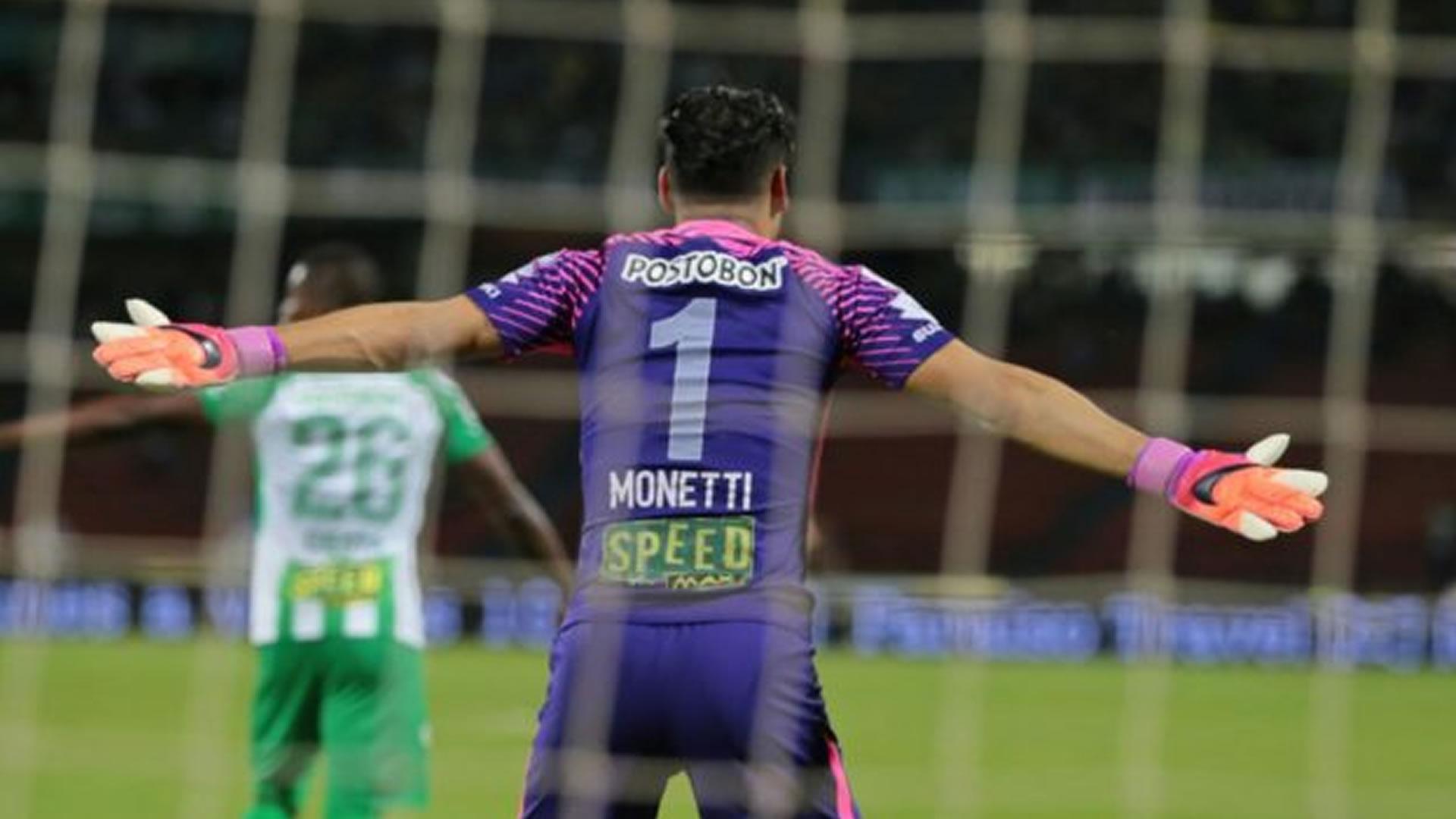 Fernando Monetti Atlético Nacional Liga Águila 2018