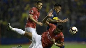 Carlos Tevez Boca Wilstermann Copa Libertadores 10042018