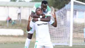 Francis Mustapha and Jacques Tuyisenge of Gor Mahia.