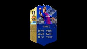 FIFA 18 Ultimate Team of the Season Luis Suarez