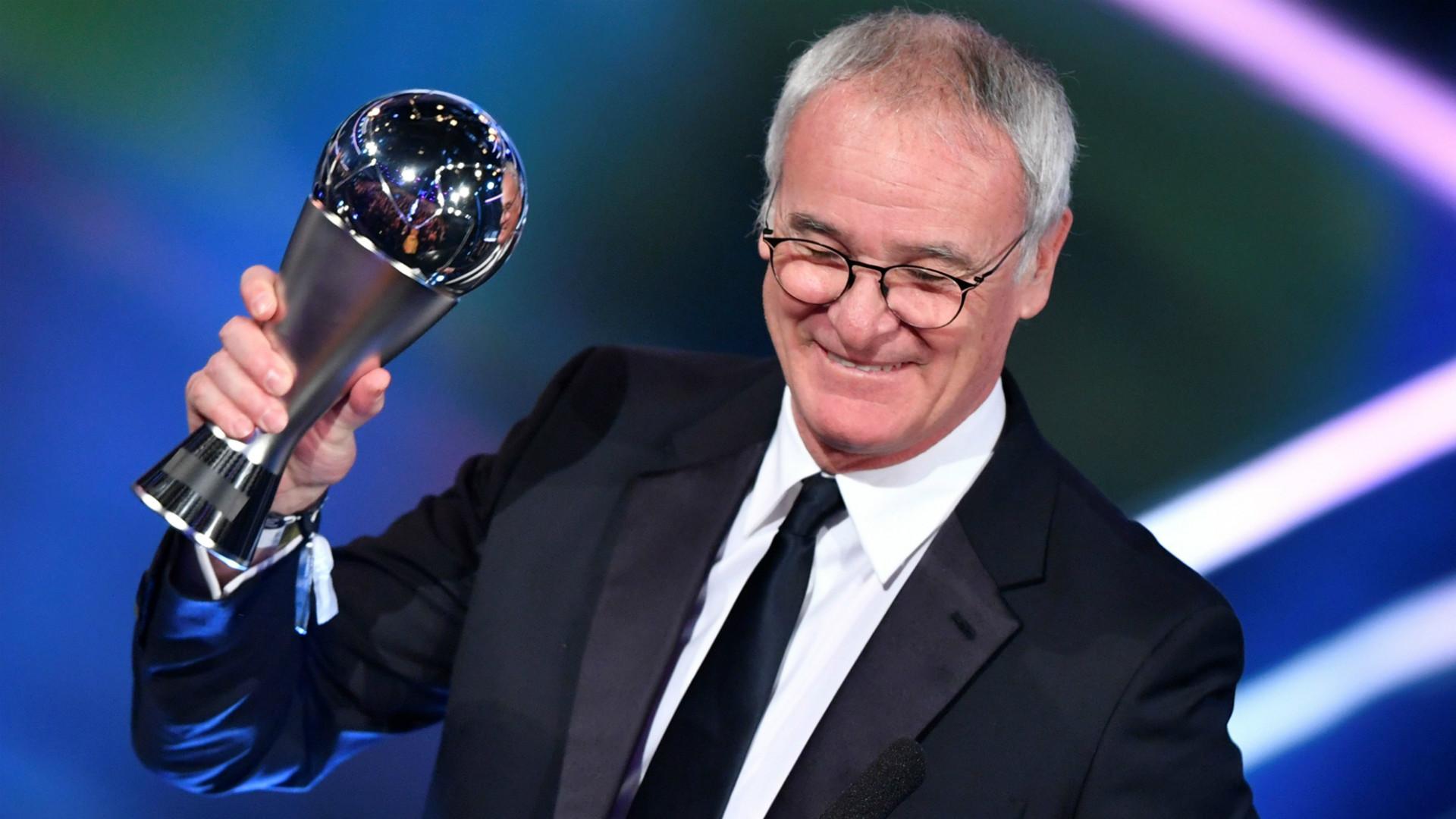 Claudio Ranieri FIFA Awards