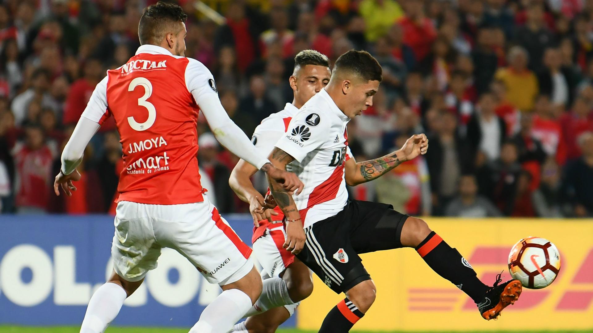 Juan Fernando Quintero River Santa Fe Copa Libertadores 03052018