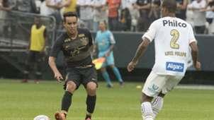 Jadson e Luiz Felipe - Corinthians x Santos - 13/01/2019