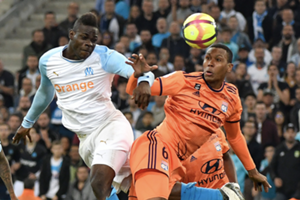 Mario Balotelli et Marcelo, Marseille-Lyon (0-3), 12 mai 2019