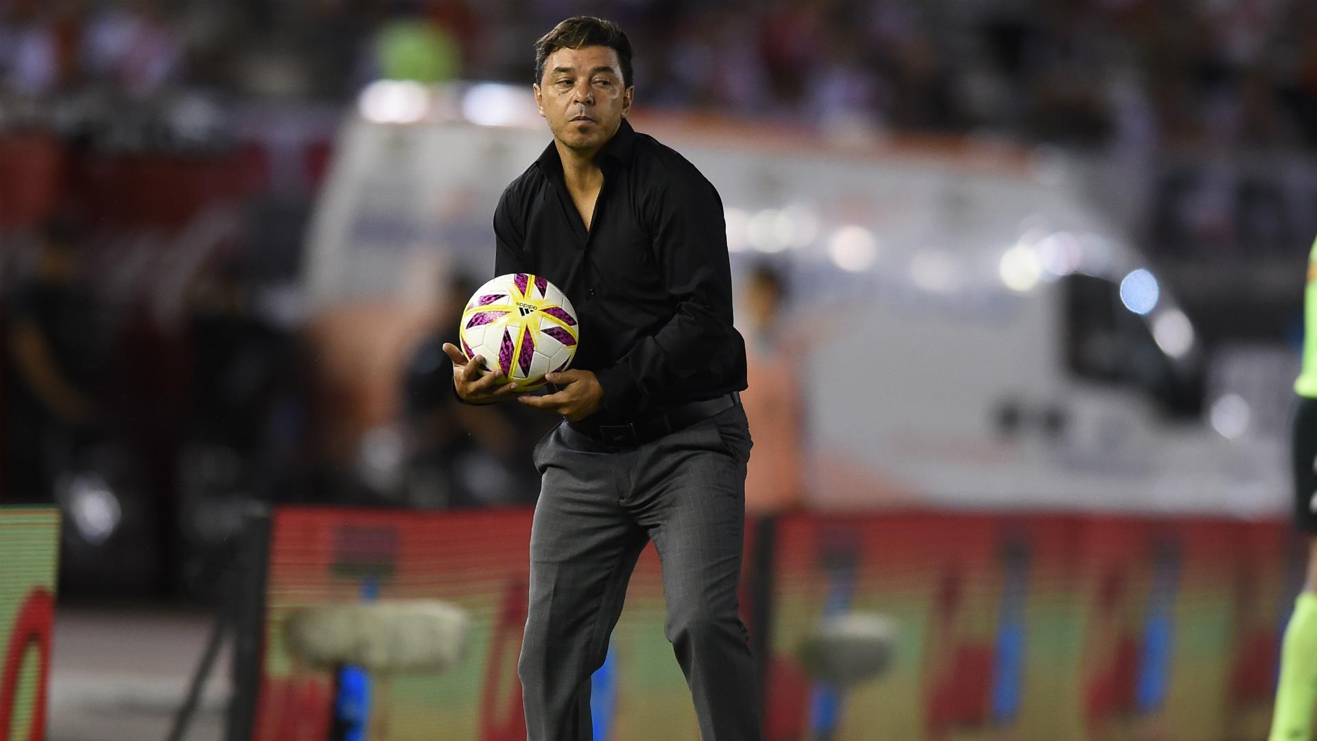 Marcelo Gallardo River Plate Union Superliga 23012019