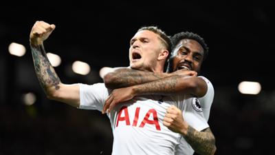 Trippier Rose Tottenham 2018-19