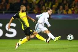 Gareth Bale Borussia Dortmund Real Madrid UCL 26092017
