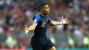 Kylian Mbappe France Croatia World Cup final 2018