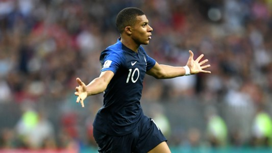 Kylian Mbappe France Croatia World Cup final 2018