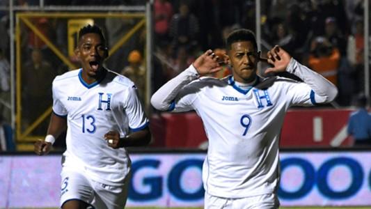 Anthony Lozano and Bryan Rochez Honduras vs Panama 11162018