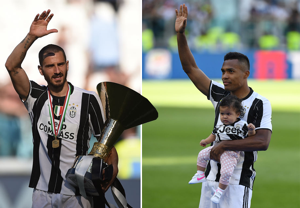 Alex Sandro and Leonardo Bonucci