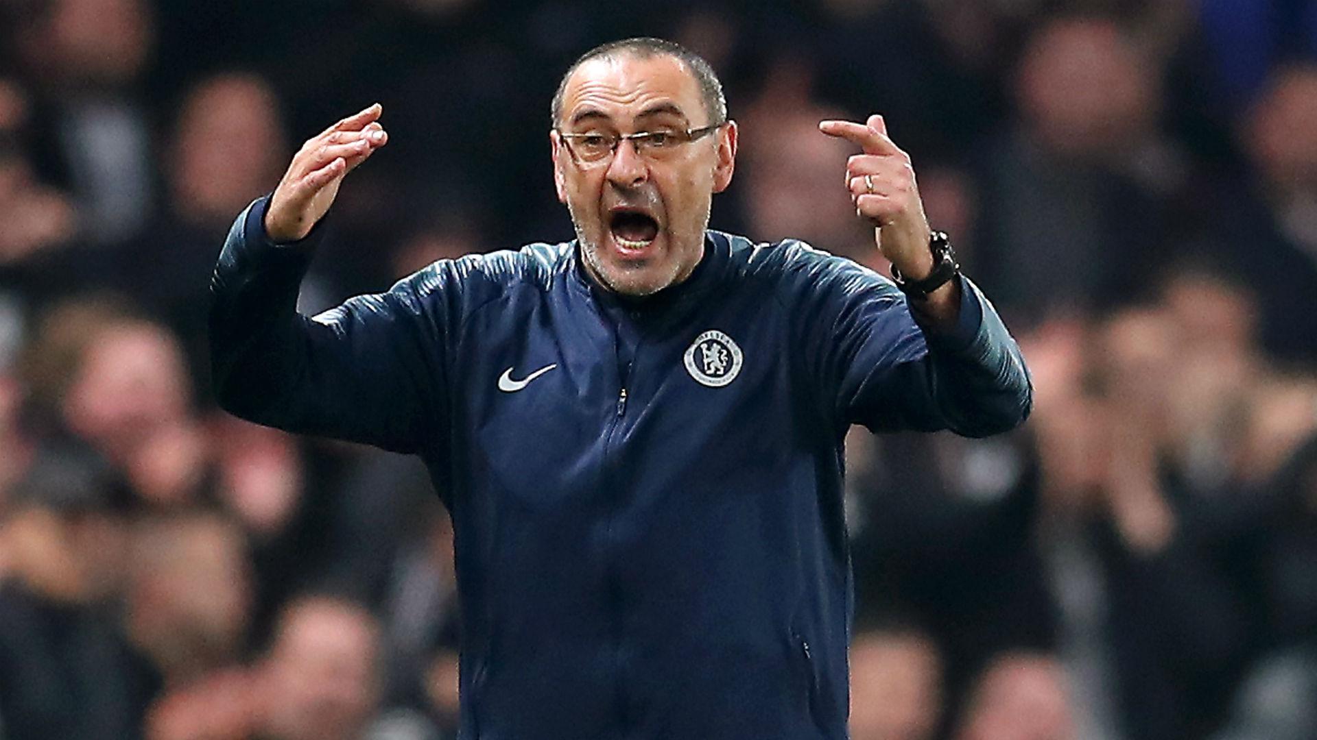 Maurizio Sarri Chelsea Eintracht