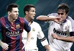 Lionel Messi, Cristiano Ronaldo & Deretan Top Skor El Clasico