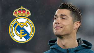 Ronaldo Real Madrid crest