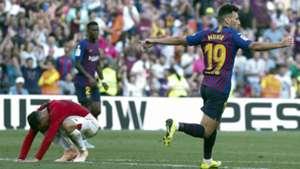 Munir El Haddadi Barcelona Athletic Bilbao La Liga 09292018