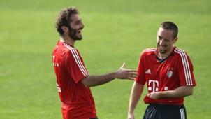 Hamit Altintop Franck Ribery
